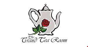 Product image for The Grand Tea Room $5 OFF any purchase of $25 or more.