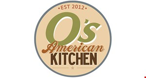 O's American Kitchen - Mission Valley logo