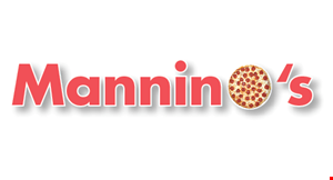 """Product image for Mannino's 2 FOR $19.99 2-14"""" med. 1-topping each pizzas."""