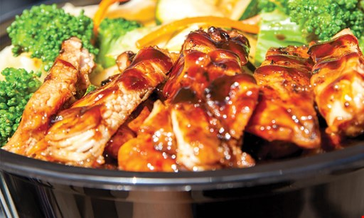 Product image for Teriyaki Madness Free regular size bowl buy one regular size bowl, get a second bowl free with purchase of two drinks