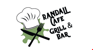 Product image for Randall Cafe Grill & Bar $10 Off any purchase of $50 or more.