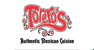 Product image for Torero'S Mexican Grill $2 Off lunch