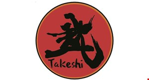 Product image for Takeshi Sushi $5 off any purchase of $30 or more.