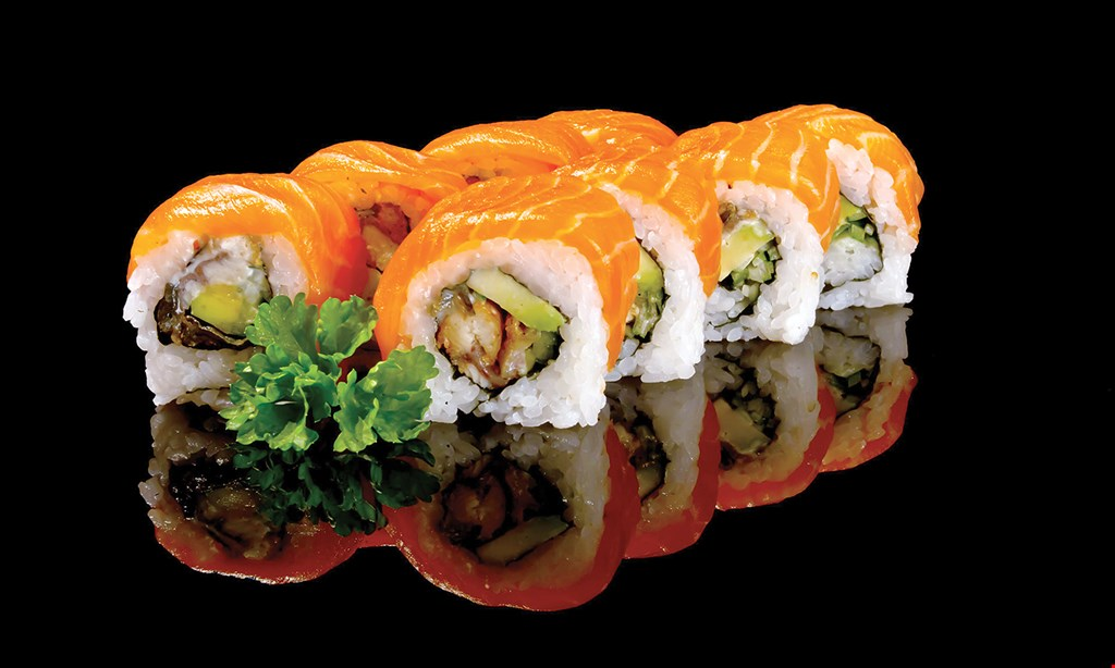 Product image for Takeshi Sushi $10 off any purchase of $60 or more.