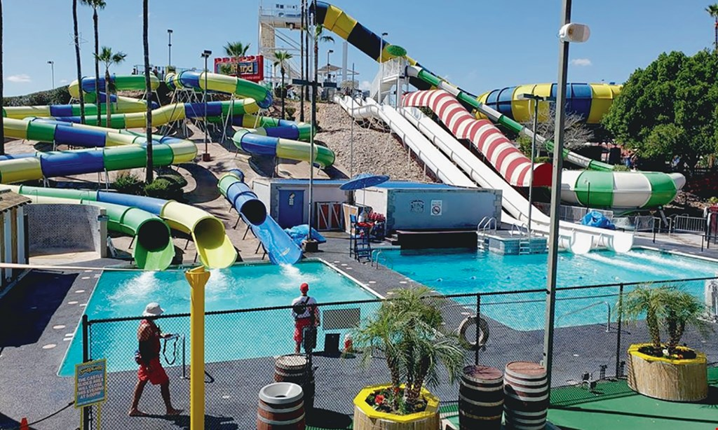 Product image for Mesa Golfland Sunsplash FREE waterpark admission buy 2 waterpark admissions ($75.98) at regular price and get the 3rd of equal or lesser value FREE