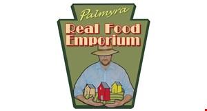 Palmyra Real Food Emporium logo