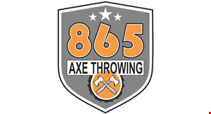 Product image for 865 Axe Throwing $25 for a one hour session for 2 people ($50 value)