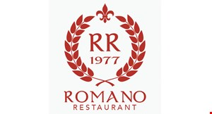 Product image for Romano Restaurant Brandon $10 Off any purchase of $50 or more
