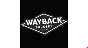 Product image for Wayback Burger $1.99 WAYBACK CLASSIC