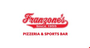 Product image for Franzone's Pizza $2 Off any purchase of $10 or more.