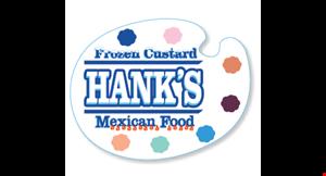 Hank's Frozen Custard logo