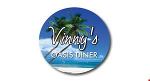 Vinny's Oasis Diner logo