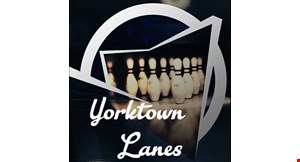 Product image for Yorktown Lanes $25.50 For 2 Games Of Bowling For 4 People With Rental Shoes (Reg $51)