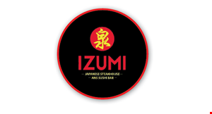 Izumi Japanese Steakhouse and Sushi Bar logo
