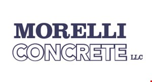 Product image for Morelli Concrete LLC $300 off any job