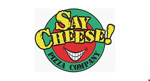 Say Cheese Pizza Company logo
