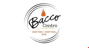 Product image for Bacco Centro 10% off any dinner