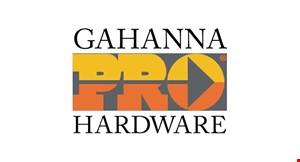 Gahanna Pro Hardware logo