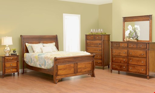 Product image for O'Reilly's Amish Furniture 0% interest for 12 months!