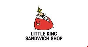 Little King Sandwich Shop logo