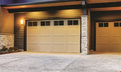 Product image for Capital City Garage Door $200 OFF any 2 car garage door replacement. $100 OFF any 1 car garage door replacement