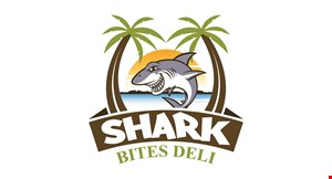 Product image for Shark Bites Deli $5 off any purchase of $25 or more