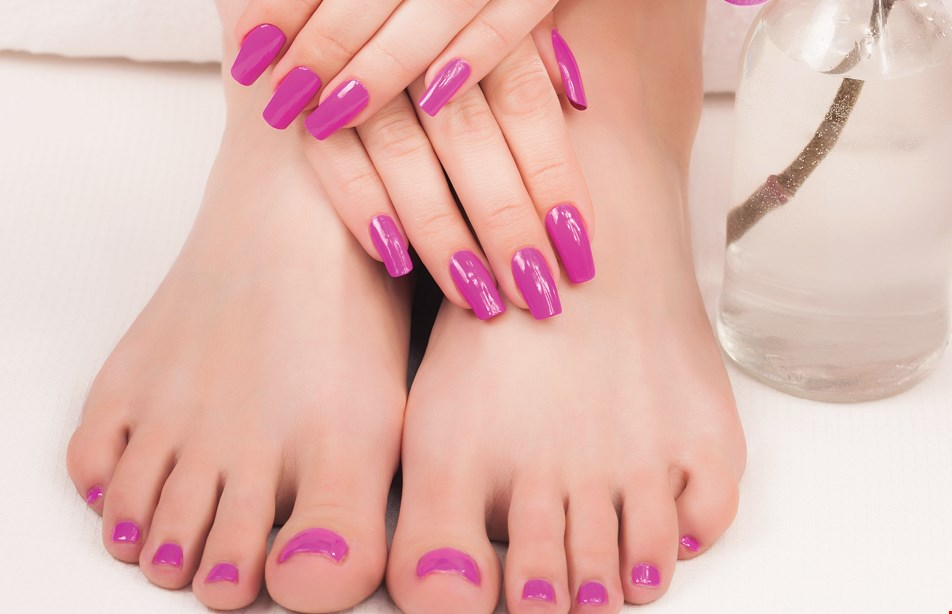 Product image for Nail Express & Spa 20% off any manicure/pedicure combo