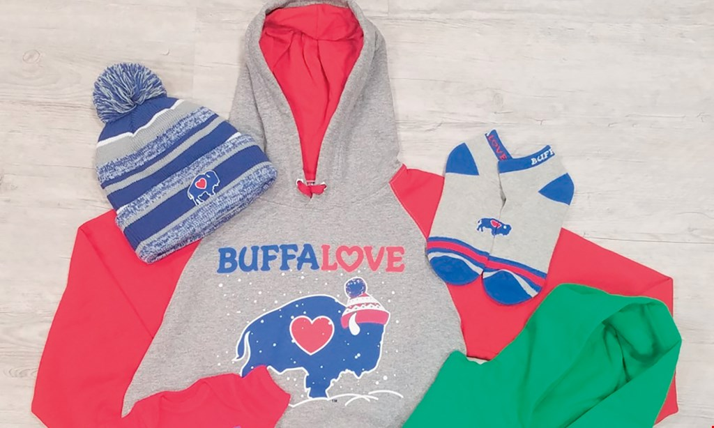 Product image for BuffaLove Apparel $20 off any purchase of $100 or more. ONLINE CODE: LUCKY