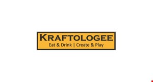 Kraftologee Eat & Drink | Create & Play logo