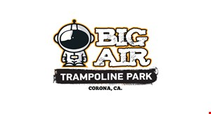 Product image for Big Air Trampoline, Corona $15 For 2 Hours Of Jump Time For 1 Person (Reg. $30)