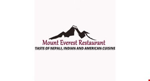 Product image for Mount Everest Restaurant $27.99 2 chicken or veggie entrees with naan