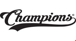 Champions Sports Bar & Grill logo