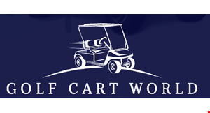 Product image for Golf Cart World $50 off a repair service of $200 or more.