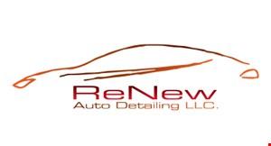 Renew Auto Detailing, LLC. logo