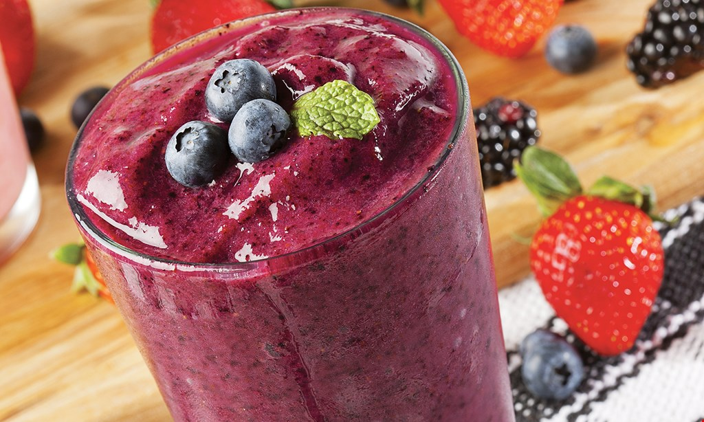 Product image for Robeks Fresh Juices & Smoothies $1 OFF medium or large smoothie, juice or acai bowl