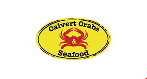 Product image for Calvert Crabs & Seafood $5 off any purchase
