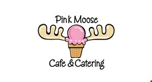 Pink Moose Ice Cream Cafe & Catering logo