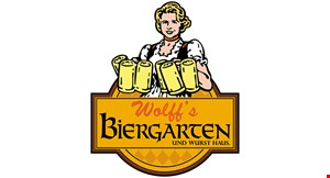 Product image for Wolff's Biergarten $5 off any food purchase of $30 or more