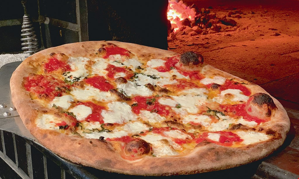 Product image for Zoni's Coal Fired Pizza FREE large margherita pizza. No purchase necessary. All Day Tuesday, Wednesday & Thursday 11:15am-9:00pm toppings extra