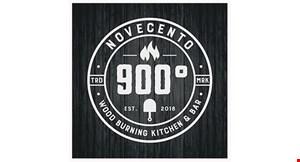 Novecento 900 Wood Burning Kitchen & Bar logo