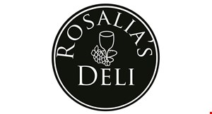 Product image for Rosalia's Deli $20 Off any catering of $150 or more