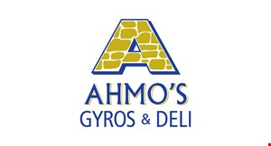 Product image for Ahmo's Gyros & Deli $3 Off any purchase of $20 or more