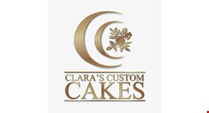 Product image for Clara's Custom Cakes $10 For $20 Worth Of Cafe & Bakery Items