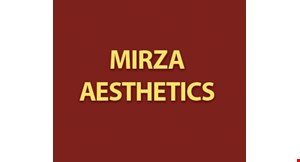 Product image for Mirza Aesthetics 50% any service