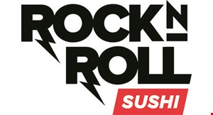 Product image for Rock N Roll Sushi $5 Off any purchase of $50 or more.