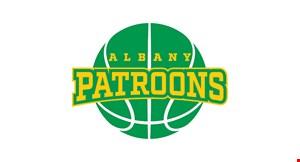 Albany Patroons Professional Basketball logo