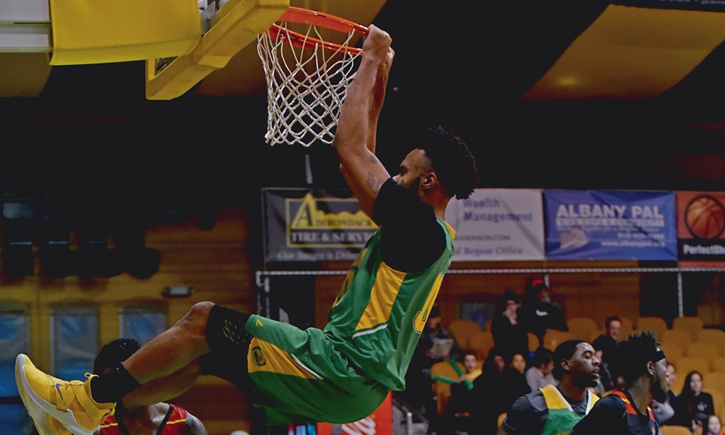 Product image for Albany Patroons Professional Basketball $2 Off general admission to any regular season home game good for up to 4 people