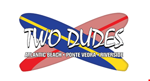 Two Dudes Seafood logo