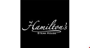 Hamilton's Steak House logo