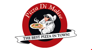 Product image for Pizza Di Molise $21.99 +tax Large Pie with Wings, 1 Order Garlic Knots, 2-Liter Soda